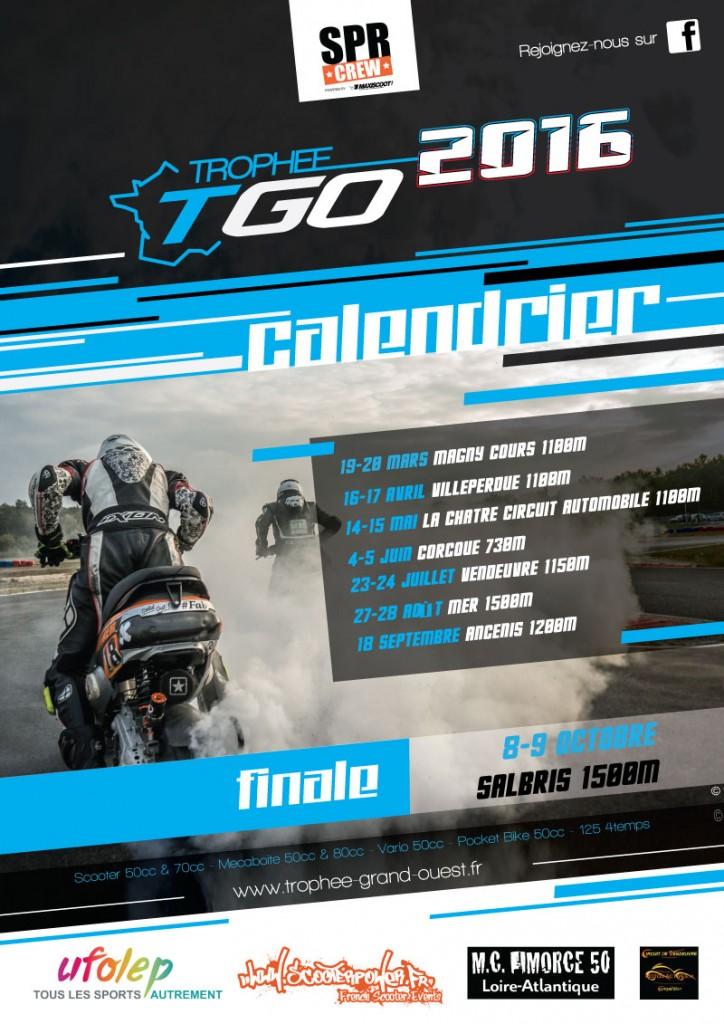 Calendrier TGO 2016